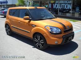 kia soul logo 2010 kia soul in ignition orange 113414 vannsuv com vans