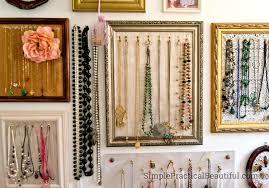 necklace bracelet display images Gallery wall jewelry display simple practical beautiful jpg