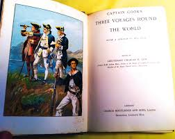 captain cook u0027s three voyages round the world with a sketch of his