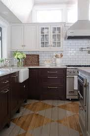 Kitchen With Brown Cabinets Best 25 Brown Painted Cabinets Ideas On Pinterest Dark Kitchen