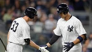 Yankees Prospect Showdown Aaron Judge Vs Gary Sanchez - severino throws sixth straight quality start in yankees win sny
