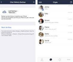 membuat icloud baru di pc new on the ios version of line transfer your chat history and pin