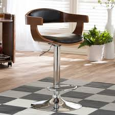 Modern Bar Furniture by Bar Stools Contemporary Swivel Bar Stools All Modern Bar Stools