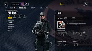 siege ump rainbow 6 siege fbi operator guide ash thermite castle pulse