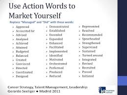 Use Action Verbs Resume by Good Words To Use In A Cover Letter Words To Use In Cover Letter