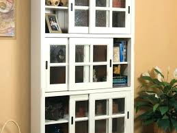 Bookcase Plans With Doors Sliding Bookcase Sliding Bookcase Hardware For Door Large