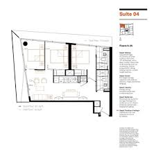Smart House Plans Smart House Condos Floorplans Suite 04 Two Bedrooms Plus Den