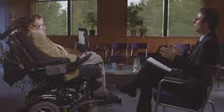 Stephen Hawking Chair Stephen Hawking Tells John Oliver He U0027s An Idiot And That Robots
