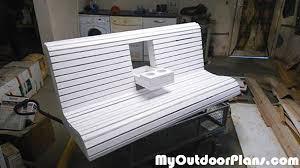 diy wooden porch swing bench myoutdoorplans free woodworking
