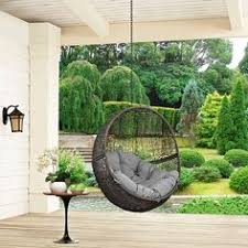 Swing Chairs For Patio Ravelo Patio Swing Chair With Matching Stand Black Model
