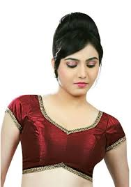 readymade blouses singaar readymade blouse design wear cap sleeve maroon