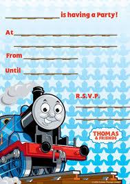 thomas u0026 friends invites pk 20 1 00 best kids party