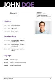 Free Resume Template Word 5 Free Resume Templates Word