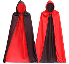 Halloween Costume Cape 2017 Men U0027s Cool Vampire Costume Black Cloak Cap