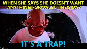 Star Wars Valentine Meme - valentine s day imgflip