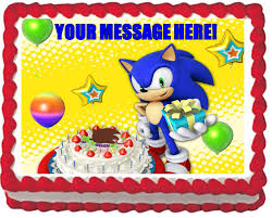sonic the hedgehog cake topper 28 best sonic cake ideas images on sonic cake sonic