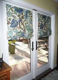 Roman Shade For French Door - roman shade blog mounting a shade on a french door design ideas