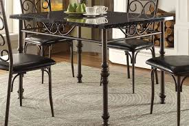 homelegance dryden dining table metal 5268 48