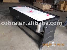 air hockey table over pool table rotating pool and air hockey table rotating pool and air hockey