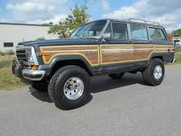 old jeep grand wagoneer 1989 jeep grand wagoneer sold