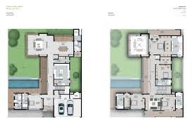 plan villa sobha hartland villas op mohammed bin rashid city dubai
