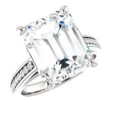 bjs engagement rings 12x10mm emerald cut engagement ring for b j s