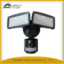 nightwatcher motion tracking motorized led flood light with color camera 1600 lm 5000k nightwatcher motion tracking motorized led flood light
