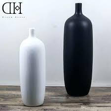 Bottle Vases Wholesale Black Ceramic Flower Vases Tall Wholesale 28065 Gallery