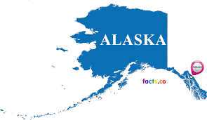 Where Is Alaska On A Map by Alaska Map Blank Political Alaska Map With Cities