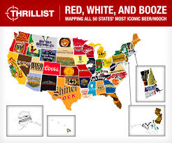 Beer Map Popular Beer In The Us Food Infographic