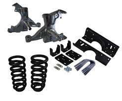 deluxe lowering kit for u002792 to u002700 chevy gmc c3500 crew cab dually
