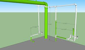 basement bathroom plumbing layout