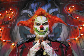 clowns halloween horror nights universal celebrates halloween horror nights u0027 25 orlando sentinel
