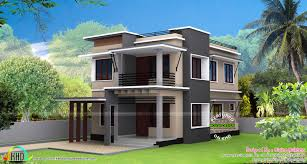 houseplans 120 187 30 lakhs rupees cost estimated modern house kerala home design