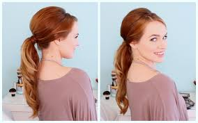 retro inspired ponytail youtube