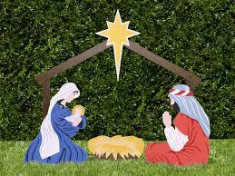 outdoor nativity set the holy family outdoor nativity store
