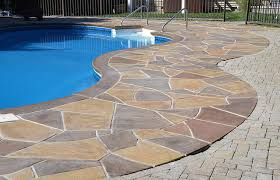 how to make your concrete pool deck look attractive
