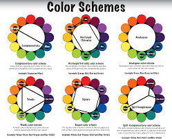 color wheel chart for teachers and students worksheet arafen