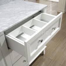 55 Bathroom Vanity Bathe 55 White Bathroom Vanity Solid Hardwood Throughout