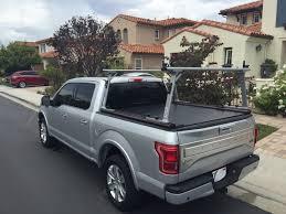 nissan titan kayak rack retraxpro mx retractable tonneau cover tracrac sr truck bed
