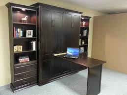 murphy bed w folding desk manchester custom by chris davis