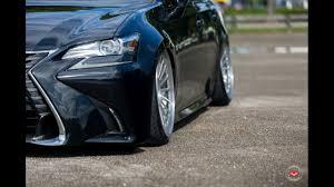 lexus gs 450h tuning dia show tuning edle lexus gs limousine auf vossen wheels lc 106