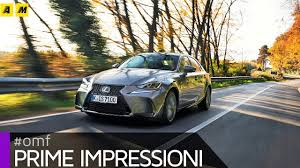 lexus lc 500 motore lexus is 300h restyling 2017 primo test youtube