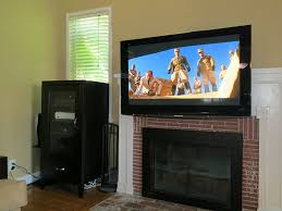 Mounting A Tv Over A Gas Fireplace by Tv Over Gas Fireplace Fireplace Ideas