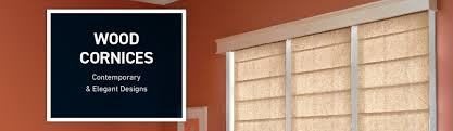Contemporary Cornices Shop Custom Wood Cornices At Lowe U0027s Custom Blinds U0026 Shades Store
