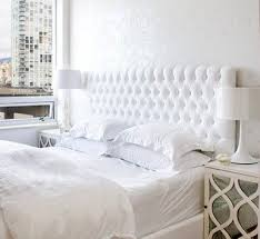 bedroom pretty white tufted headboard headboards velvet grey