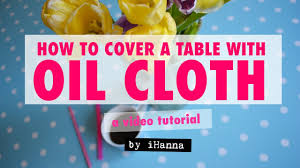 how to cover a table art table tutorial how to cover your table with oilcloth diy