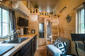 Interior Design For Very Small House Mt Hood Tiny House Village Tour Oregon Tiny House Rentals