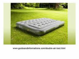 coleman double air bed youtube