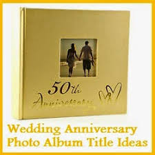 anniversary photo album my title